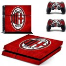 AC Milan Football Team PS4 Skin Sticker Decal For Sony PlayStation 4 PS4