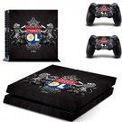 Olympique Lyonnais Football Team PS4 Skin Sticker For Sony PlayStation 4
