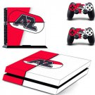 AZ Alkmaar PS4 Skin Sticker Decal for Sony PlayStation 4 Console and Controller Skin
