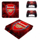 Arsenal PS4 Slim Skin Sticker Decal for Sony PlayStation 4 Slim