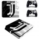 Juventus Football Team PS4 Slim Skin Sticker Decal for PlayStation 4 Slim