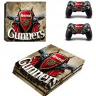 Arsenal Football Team PS4 Pro Skin Sticker For Sony PlayStation 4 Pro