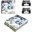 Cristiano Ronaldo and Lionel Messi PS4 Pro Skin Sticker For PlayStation 4 Pro