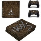 Air Jordan PS4 Pro Skin Sticker Decal for PlayStation 4 Pro Console and 2 Controllers