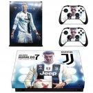 Juventus Cristiano Ronaldo Skin Sticker Decal For Xbox One X
