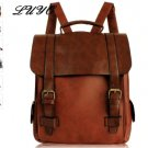 2019 Fashion Women Leather School Vintage Backpack Men Small