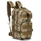 Camouflage Backpack Travel Backpack Men Drop Ship Bag 3P Male