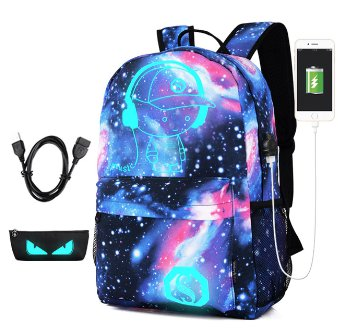 Namvitae Cute Printing Cartoon School Bags Fashion Children USB