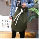 Men Drawstring Backpack Canvas Casual Large