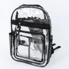 Transparent School Bag Fashion Clear Jelly Backpack Ladies Fluorescent