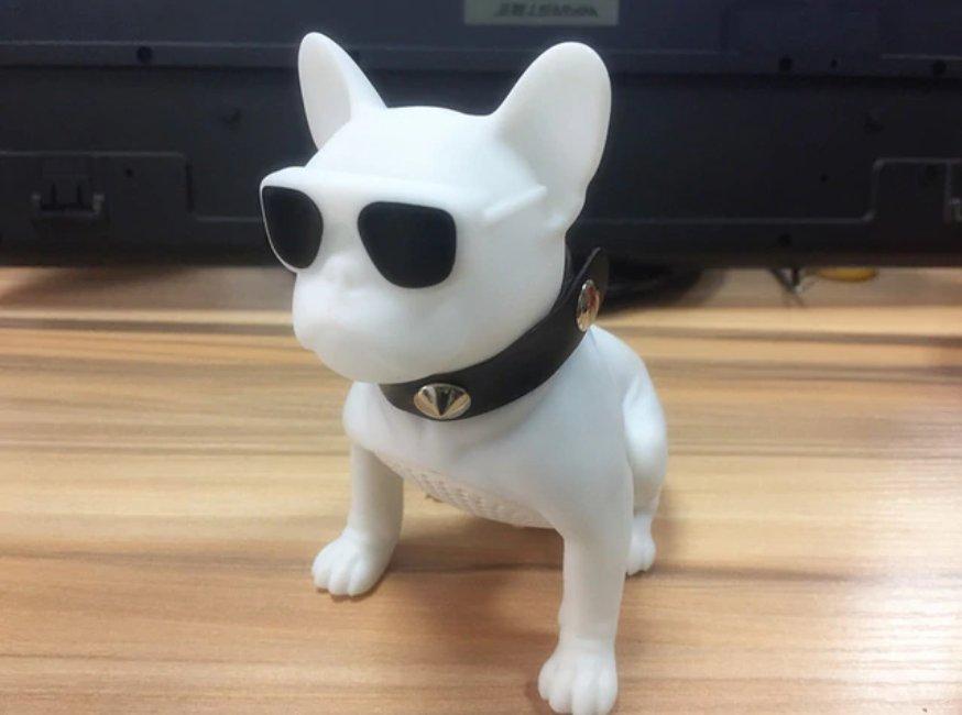 New Wireless Speaker Bulldog Bluetooth Speaker Portable HIFI Bass Speaker Full Dog