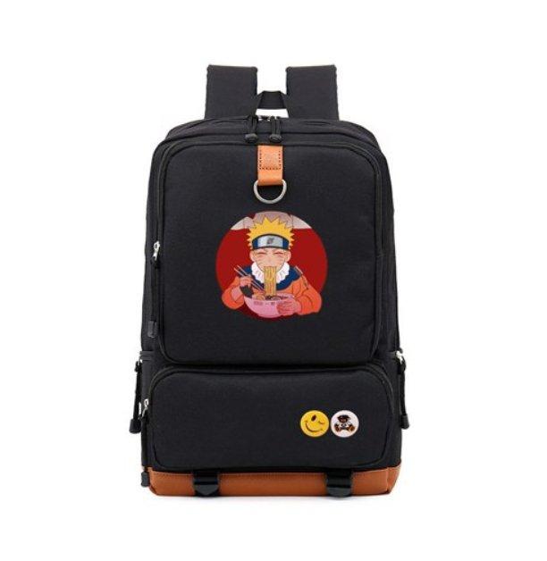 NARUTO Uchiha Clan Backpack Schoolbag Daypack Japanese Anime Cosplay Backpack