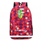 Anime Rick and Morty Backpack Schoolbag Casual Teenagers Oxford School Bags