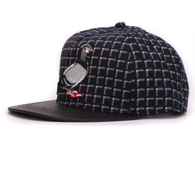 Brand 3D Pigeon hip hop baseball caps for men women outdoor sport hats snapback cap
