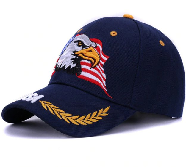 2018 Spring summer baseball caps for men outdoor sun hat women embroidery Eagle USA sports hats