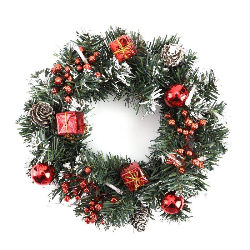 40cm LED Christmas Wreath