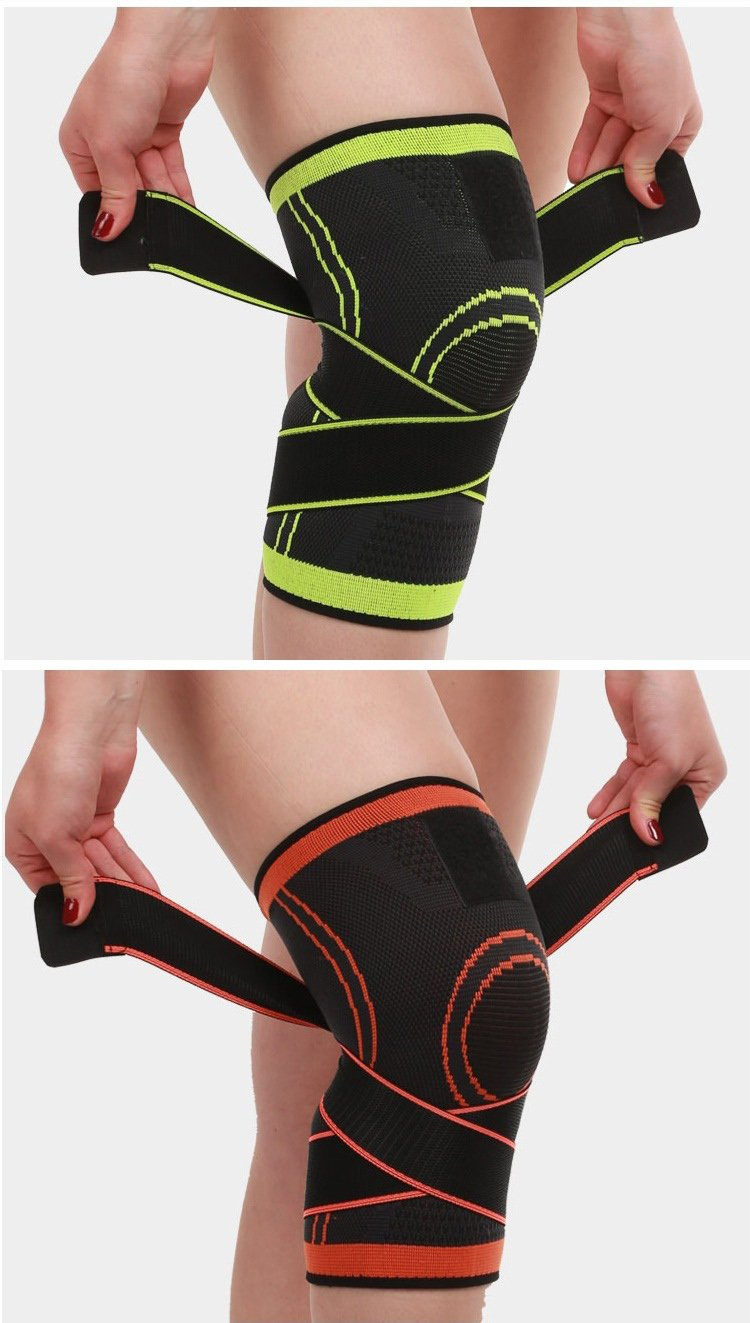 Compression Knee Brace Support Professional Protective Sports