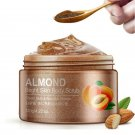 Exfoliating Gel Body Scrub Cream Almond