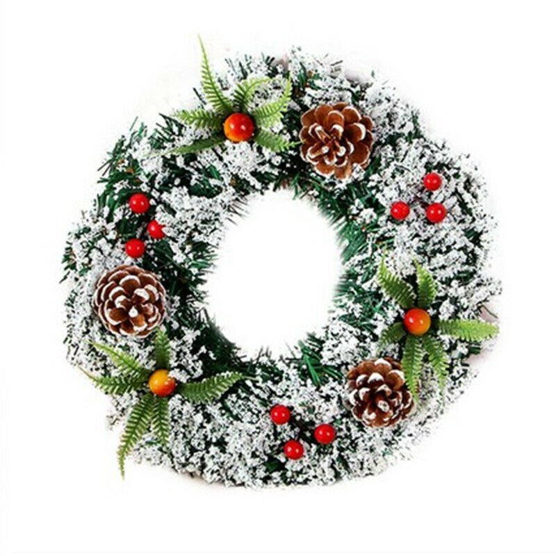 Christmas Wreath Christmas Large Wreath Door Wall Ornament Garland Decoration