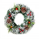 Christmas Wreath Christmas Large Wreath Door Wall Ornament Garland Decoration