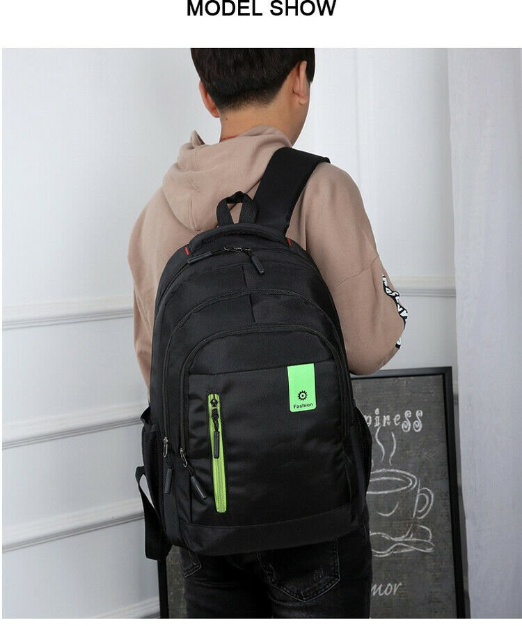 Casual Bag Fashion School Bag Men and Women With Large Capacity school and busin