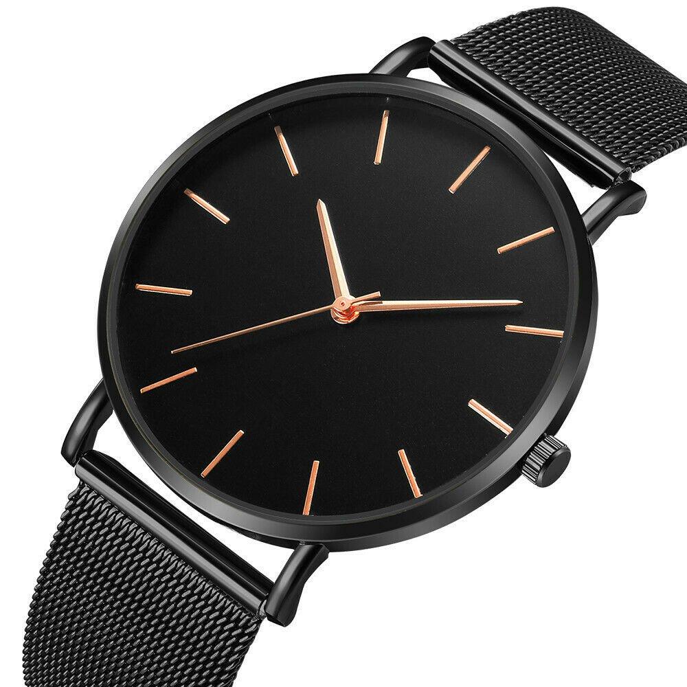 Army Military Sport Date Analog Quartz Wrist Watch Fashion Stainless Steel