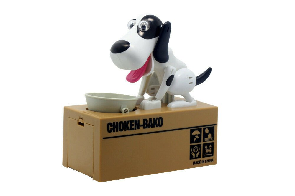 Creative Piggy bank Robotic Dog Bank Canine Money