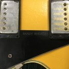 Gibson Randy rhoads Les paul custom Engraved pickguard