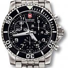 Victorinox Swiss Army Men's 'Maverick II' Swiss Quartz Titanium Sport Watch