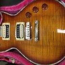 ESP EC1000 Deluxe Amber burst