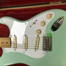 Fender 50s classic strat surf green NEW