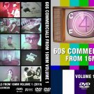 60s Commericals from 16mm Volume 1! TV Time Tunnel Treasure Trove DVDR!