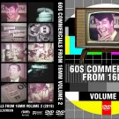 60s Commericals from 16mm Volume 2! Another TV Time Tunnel Treasure Trove DVDR!
