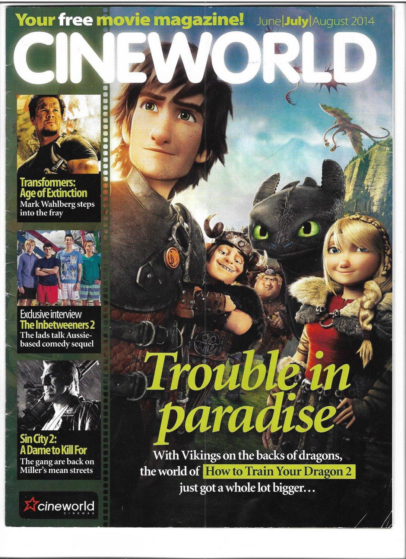 Cineworld Cinemas Magazine June-July 2014