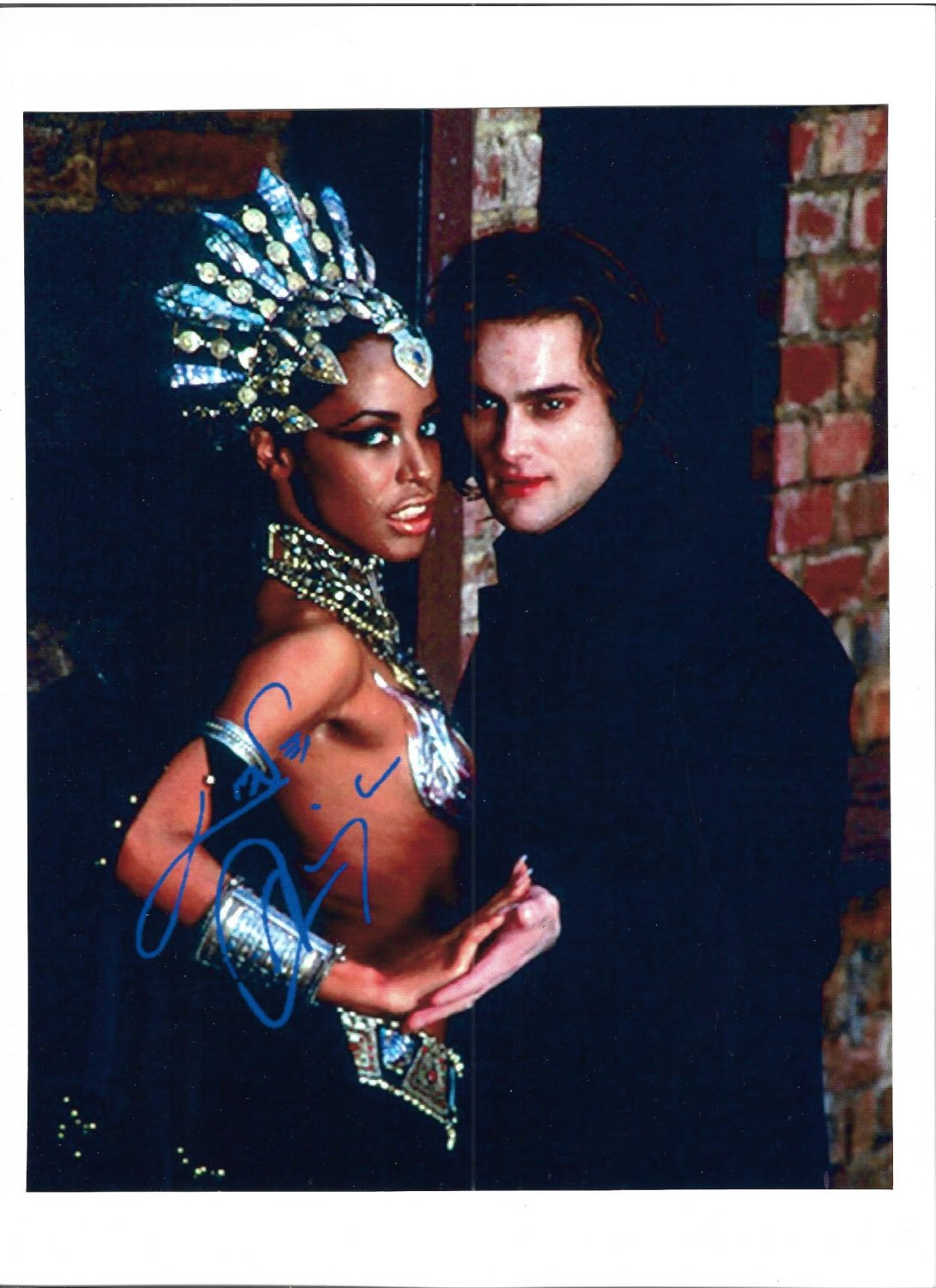 Queen of The Damned Movie Still Signed A4 Promo Photo Print