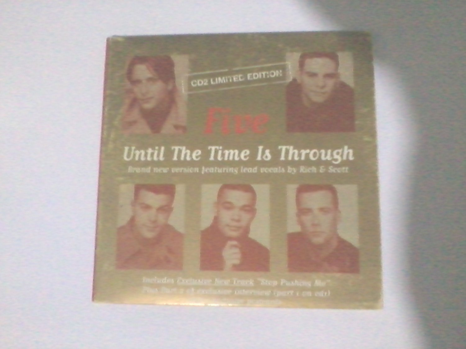 Five - Until The Time Is Through CD2 Limited Edition