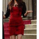 Pretty Little Liars Aria Gallery Red Date Dress Ltd Ed Custom Made