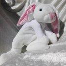 White Rabbit plush HANDMADE Doctor´s Decor stuffed bunny soft toy unique gift for Therapist Dentist