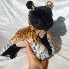 Handmade HYENA plush Unique Home Decor soft toy wildlife stuffed animal floppy wild dog collectible