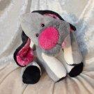 Gray Puppy plush Dachshund soft toy floppy doxie HANDMADE stuffed dog Cocker Spaniel floppy nursery