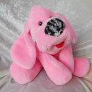 Pink Puppy girl baby shower plush DACHSHUND floppy Cocker Spaniel soft toy NURSERY stuffed dog ooak