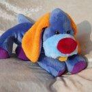 Blue Puppy for boys orange baby shower plush DACHSHUND floppy Spaniel soft toy  NURSERY stuffed dog