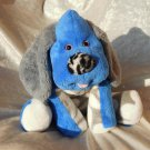 Blue Puppy for boys HANDMADE baby shower plush DACHSHUND floppy Cocker Spaniel soft toy stuffed dog