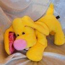 Yellow SPANIEL soft toy Lemon DACHSHUND HANDMADE Spaniel plush floppy doxie stuffed puppy dog