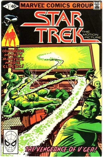 Star Trek #2 Marvel Comics F/VF