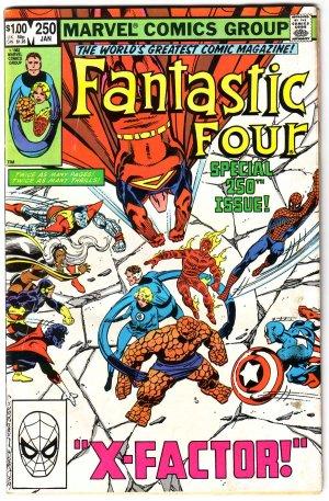 Fantastic Four #250 Marvel Comics F/VF