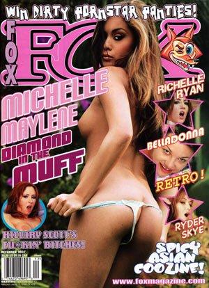 FOX Magazine December 2007 *NEW* Bagged w/XXXDVD