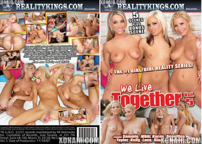 We Live Together 5 / Reality Kings *NEW* FREE SHIPPING