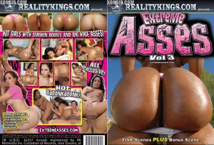 Extreme Asses 3 / Reality Kings *NEW* FREE SHIPPING