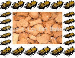 Dog Treats Biscuits Gourmet Homemade 1 LB Peanut Butter